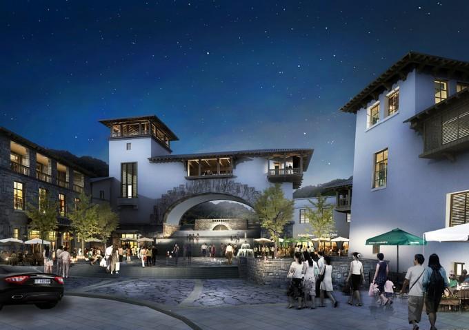 Liangjiang New District Town Center